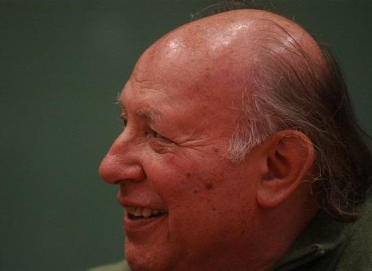 Literaturnobelpreisträger Imre Kertesz, Foto: Csaba Segesvári.