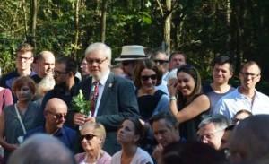 Heinz-Peter Becker während der Eröffnung des neuen Horváth-Zentrums am 25. September 2016.