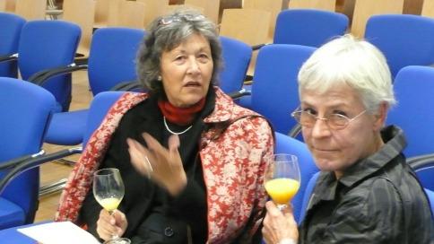 Seit Jahren engagieren sich Birgit Schüller und Helga Glanz mit Leib und Seele für die Aufarbeitung der KZ-Außenstellen-Geschichte und die Margit-Horváth-Stiftung.