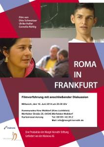 Im Anschluss an den Film haben Sie die Gelegenheit mit Roma zu sprechen, die im Film porträtiert sind oder die im Förderverein Roma arbeiten.