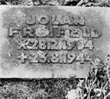 Grabstein Jolan Freifeld, Neuer Friedhof, Offenbach.