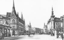 Postkarte Kolozsvár (gesprochen: Koloschwar, zu Deutsch Klausenburg) um 1940.