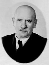 Der Vater von Margit Horváth ca. 1943.